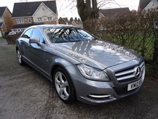 Mercedes-Benz CLS Class 3.0CDI CLS350 Blue F Saloon 4d 2987cc 7G-Tronic Plus